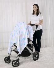 LAT textile blanket printing oekotex 100 handmade baby blanket