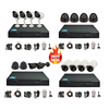 Factory Best selling LOW COST DVR & Cameras kit , CCTV camera kit, Support Network viewing