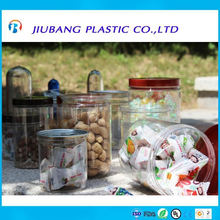 plastic jerry can with aluminum EOE,PET jars for cookie,candle,bisute,toys