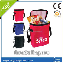 pvc wine cooler bag/handled stytle pvc wine cooler bag wholesale