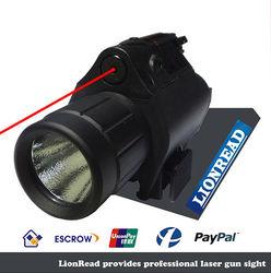 2015 Newest LionRead Mini 3 Watt Lumen LED Red Dot tactical laser sight for pistol .40