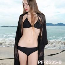 Fashion newest digital silk women's chiffon pure color scarf high quality wraps alibaba scarf