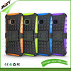 Hot sale mobile phone accessory phone case for HTC one M8 pc tpu case with stand for HTC one m8 cell phone back case