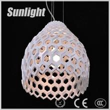 Retro Fashion style bowl hollow Industrial acrylic pendant Lamp/light