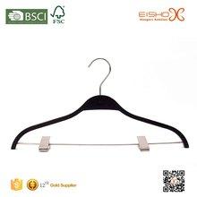 Eisho Strong Polished Chrome Swivel Hook And Hard Wood Laminated Hanger