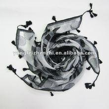 2012 Beautiful polyester fashion trendy lady scarf shawl