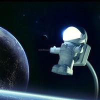 Astronaut USB White led nightlight, baby nightlight