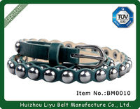 Custom Beaded Western Belts