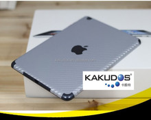 Full body laptop carbon fiber skin for ipad 2/3/4 , ipad mini 4 free sample