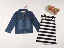 latest girls stylish jeans and top girls denim jacket tops