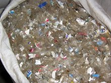 PET scrap, plastic flake