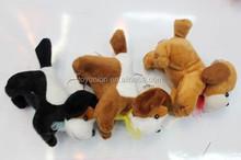 Cute pet dogs stuffed animal pattern