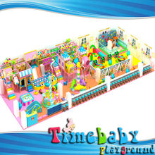 Children attractions used PVC inflatable indoor pool set from china
