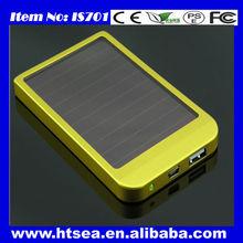 graduation gift mini portable waterproof 5000mah solar power bank