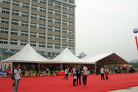 6 * 12 m outdoor exhibition tent can be used for rental