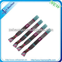 Easy Locking plastic handicraft textile wristband for christmas gifts