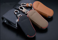 High Quality Black Men Leather Keychain With Car Logo DP-001