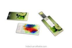 4gb business card usb flash drive with custom logo