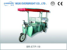 electrophoresis paint 48V passenger electric tricycle