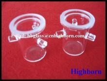 Silica Quartz Crucibles for Determination of Volatiles
