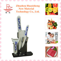Cheap china imports ceramic knife set China gift items ceramic knife set names of fruits with pictures
