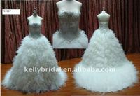 New Designer Wedding Gown Dress Bride in Apparel
