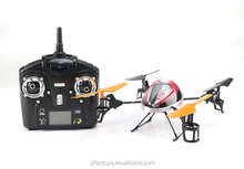WL Model v212 2.4G 4 Channel with a six-axis gyro scope RC UFO With Lights