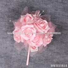 rosa ramo <span class=keywords><strong>de</strong></span> <span class=keywords><strong>flores</strong></span> <span class=keywords><strong>de</strong></span> la boda