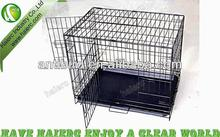 Haierc Folding Dog Kennel, High Quality Dog Crate, Welded Dog Cage DSA36
