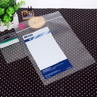 micro perforated plastic bags zip lock bags with heat seal