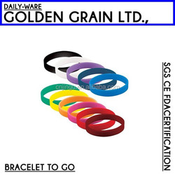 colorful free bulk silicone wristbands for sale