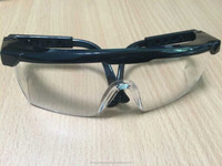 2015 Population safety glasses working goggles G001 white safety googles trade assurance supplier