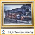 400 g shanghai tren pinturas al óleo de poliéster y algodón, materiales de arte de la lona impermeable