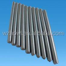 High quality carbon steel stainless steel DIN975 threaded rod threaded bar