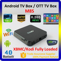 2015 OEM 2 years warranty English iptv channels tv box, android M8S IPTV tv box,full hd 1080p porn video media player