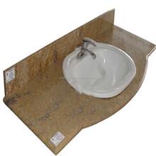 bathroom sink countertop Hot sale marble top vanity unit factory price bathroom vanity countertops