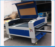 4 heads fabric laser engraving&cutting machine with Sunup laser tube Skype:szchanxan