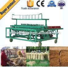 High effiency straw reed bedding knitting machine