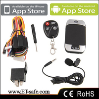 GPS/GSM car Tracking Devices/Systems Remote Control Cut-off Engine with sms