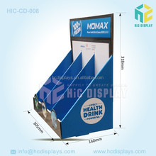Customized Corrugated Cardboard Shipper Display Counter Top Pen Retail Sales
