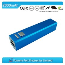 Slim cell phone power bank 2200mah ,customized box is available