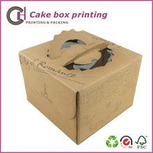 Kraft Paper Bakery Cake Cookies packing Box