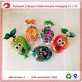 Prix usine bopp/pe fruits forme de gelée sacs d'emballage en plastique bangbang jus de sac