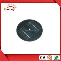 8V 200mA Round PET lamination Small Solar Panel for toys