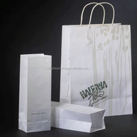 Wholesale gift paper bag supplied by alibaba custom paper bag design printing