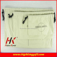 light 150gsm cotton fabric drawstring coin bags from factory direct sell