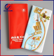 HS792-8 With 10 years manufacturer experience factory supply custom printed leather passport holder