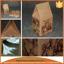 individual cupcake boxes and packaging with window