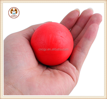 Super elastic pet toys Red natural rubber pattern elastic ball Size S M L