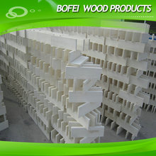 Low price Poplar wood drawer board in bleaching